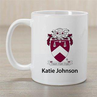 Gamma Sigma Sigma Crest Coffee Mug - Personalized!
