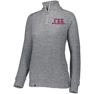 Gamma Sigma Sigma Cuddly 1/4 Zip Pullover