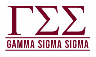 Gamma Sigma Sigma Custom Sticker - Personalized