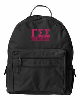 Gamma Sigma Sigma Custom Text Backpack