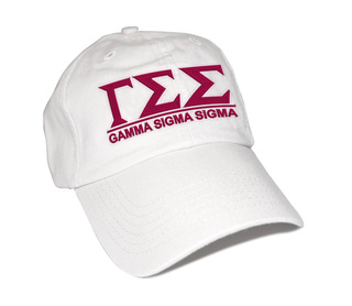 Gamma Sigma Sigma Famous Line Hat