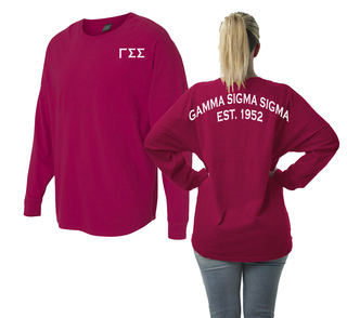 Gamma Sigma Sigma Game Day Billboard Jersey