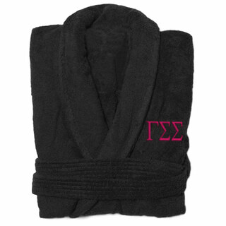 Gamma Sigma Sigma Greek Letter Bathrobe