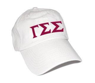 Gamma Sigma Sigma Greek Letter Hat