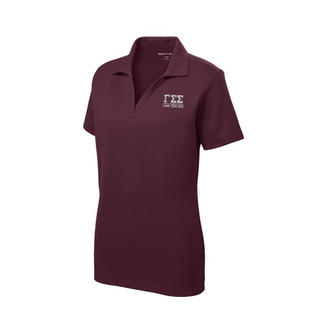 Gamma Sigma Sigma Greek Letter Polo Shirts