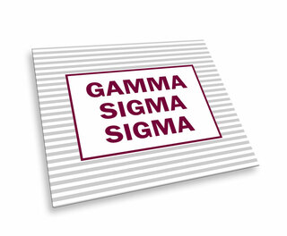 Gamma Sigma Sigma Striped Mousepads
