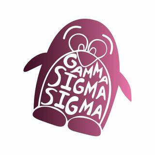 Gamma Sigma Sigma Mascot Greek Letter Sticker