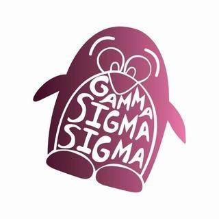 Gamma Sigma Sigma Mascot Greek Letter Sticker