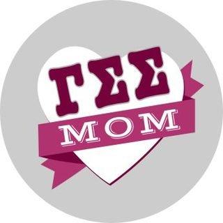 Gamma Sigma Sigma Mom Round Decals