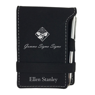 Gamma Sigma Sigma Mascot Notepad With Pen