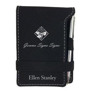 Gamma Sigma Sigma Mascot Notepad With Pen