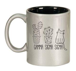 Gamma Sigma Sigma Purrrfect Sorority Coffee Mug