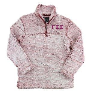 Gamma Sigma Sigma Sherpa Quarter Zip Pullover