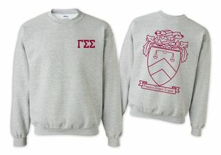 Gamma Sigma Sigma World Famous Crest - Shield Crewneck Sweatshirt- $25!