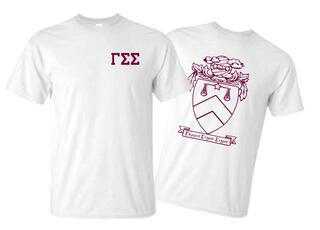 Gamma Sigma Sigma World Famous Crest - Shield Tee