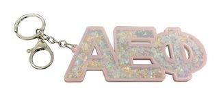 Glitter Sorority Keychain