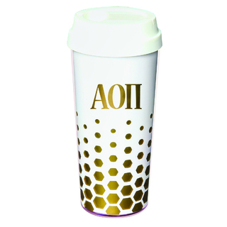 Gold Sparkle Coffee Tumblers