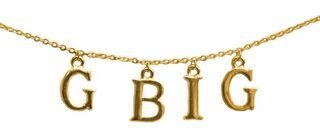 Grand Big Sister Sorority Necklace GBig Sis