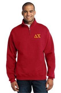 Greek 1/4 Zip Pullover
