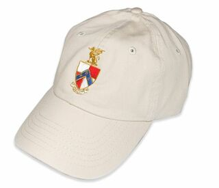 DISCOUNT-Greek Crest - Shield Baseball Hat