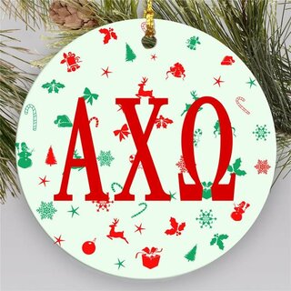 Sorority Holiday Cheer Ornament