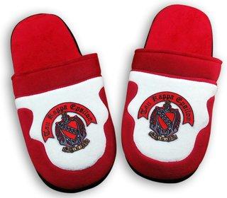 Greek Crest Slippers