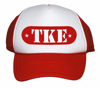 Greek Emblem Trucker Hat