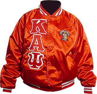Greek Jackets - Satin W/ Crest