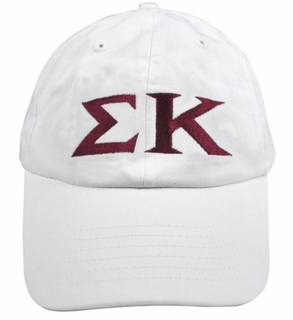 Greek Letter Hat