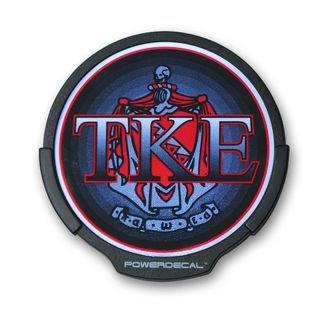 TKE Greek Light Up Power Decal