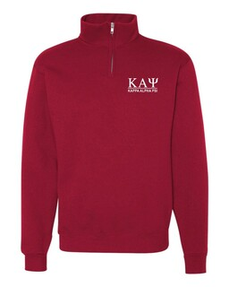 Fraternity & Sorority Line Quarter Zip Pullover