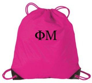 Greek Shoulder Cinch Pack
