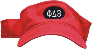 Fraternity & Sorority Oval Visor