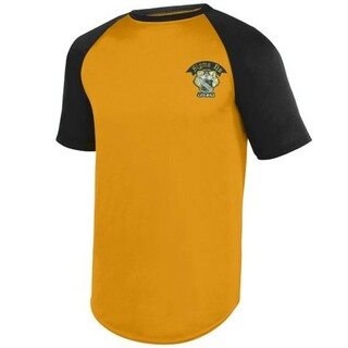 DISCOUNT-Greek Wicking Short Sleeve Baseball Jersey