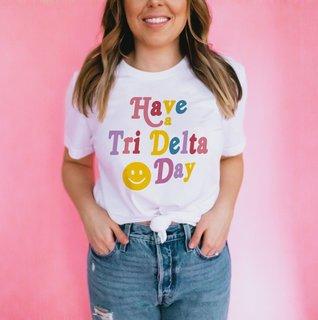 Have A Delta Delta Delta Day Comfort Colors Tee