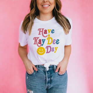 Have A Kappa Delta Day Comfort Colors Tee