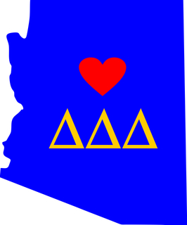 Home is Where Your Heart Is State Sorority Sticker