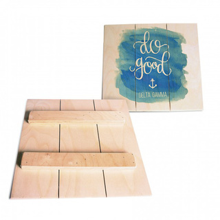 Sorority Wood Plank Signs