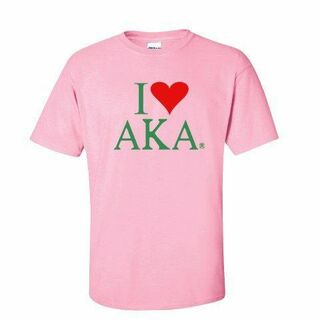 I Love Alpha Kappa Alpha T-Shirts