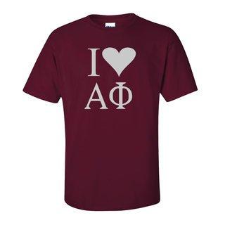 I Love Alpha Phi T-Shirts