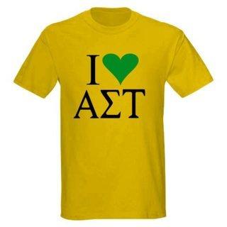 I Love Alpha Sigma Tau T-Shirts