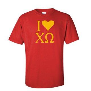 I Love Chi Omega T-Shirts