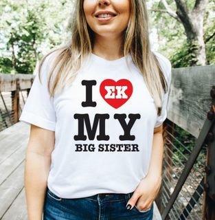 I Love My Big Sis Shirt