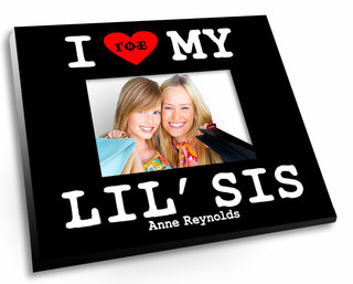 I Love My Lil' Sis Picture Frame