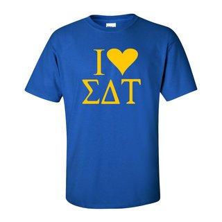 I Love Sigma Delta Tau T-Shirts