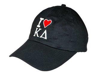 """""""I Love"""" Sorority Hat"""