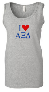 I Love Sorority Tank Top