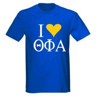 I Love Theta Phi Alpha T-Shirts