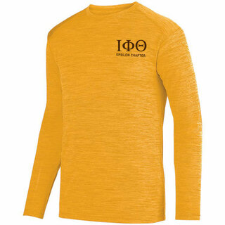 Iota Phi Theta- $22.95 World Famous Dry Fit Tonal Long Sleeve Tee