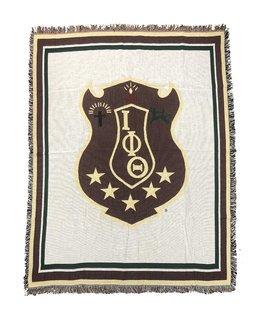 Iota Phi Theta Afghan Blanket Throw